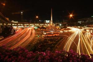 noite do bankok foto