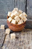 caroço de açúcar mascavo foto