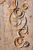 aparas de madeira