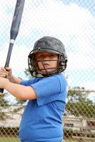 jogador de softbol foto