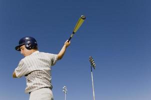 massa aquecendo no jogo de beisebol