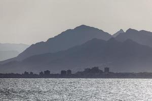 costa em puerto de mazarron, espanha foto