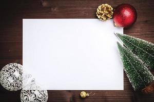 decoração de espaço de cópia de natal