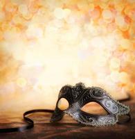 máscara de carnaval com espaço de cópia