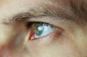oeil masculin