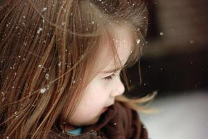 flocos de neve foto