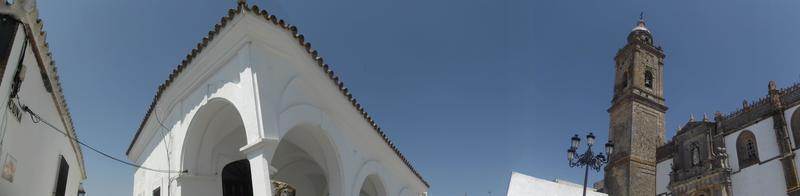 praça da colina, medina sidonia foto