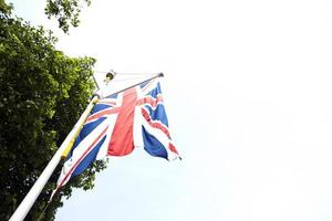 Bandeira britânica foto