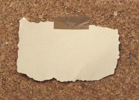 fundo de nota de papel velho marrom foto