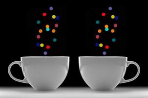 xícaras de café foto