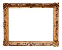 moldura dourada foto