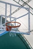 quadra de basquete foto