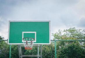 encosto de basquete foto
