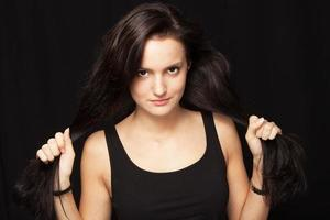 meu cabelo está saudável! foto