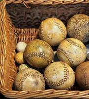 bola de beisebol foto