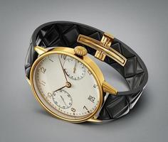 relógio de ouro foto