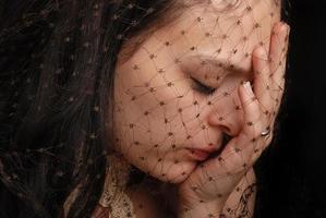 muito triste foto