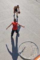 basquete de rua foto