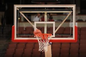 rede de basquete foto