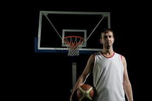 retrato de jogador de basquete foto