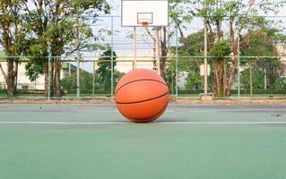 basquete, bola de basquete foto