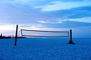 rede de voleibol foto