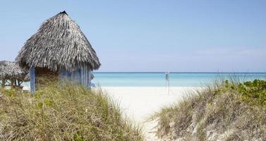praia cubana foto