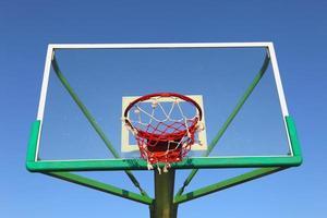 cesta de basquete do painel foto
