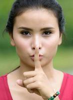 Quieto, por favor, não use ruídos que incomodem os outros.