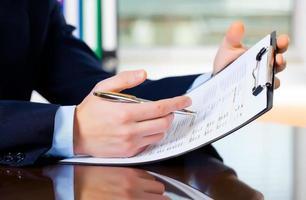 negócios, contabilidade foto
