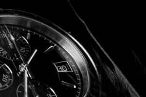 close-up do relógio. foto