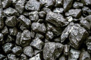 carvão de perto foto