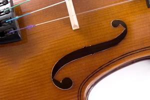 violino close-up foto