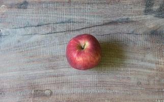 close-up maçã vermelha foto