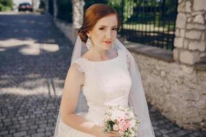 dia do sol de casamentos foto
