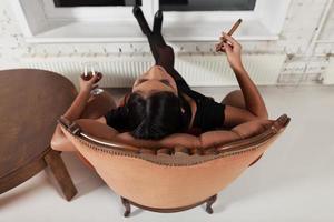 relaxe completamente