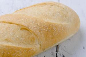 pão fresco fechado. foto