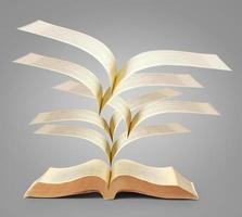 livro de histórias de fantasia foto
