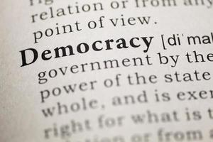 democracia foto