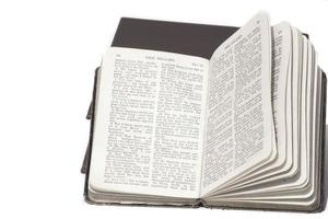 livro de salmo aberto foto