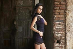 modelo de moda tailandês foto