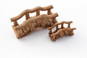 modelo de ponte em cerâmica
