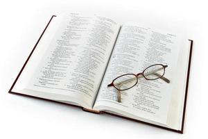 Estudo da Bíblia foto
