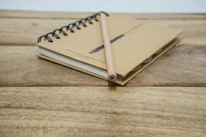 fundo de papel de caderno foto