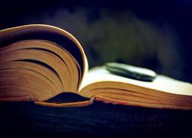 leitura aberta foto