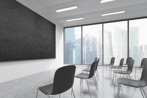 sala de aula ou sala de apresentação foto