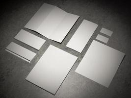 modelo de negócio de maquete. foto