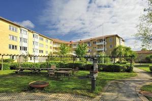 prédios de apartamentos