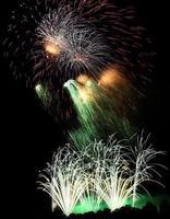 fogos de artifício foto