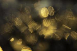 lâmpadas de ouro